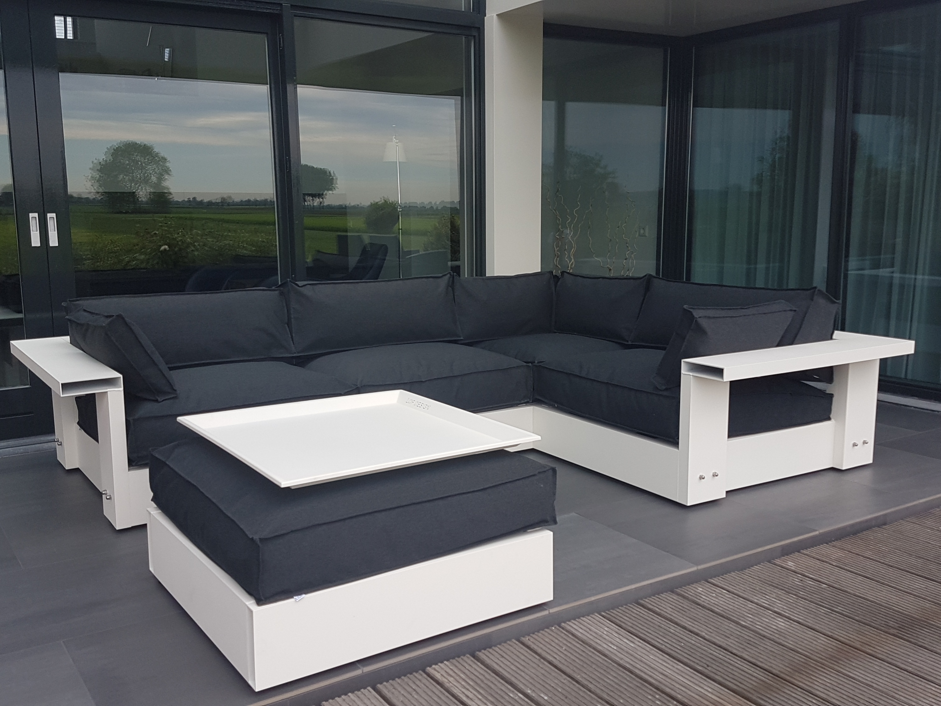 Latex Ral 9010 Lounge 13al Design Bart Vos Lofdesign