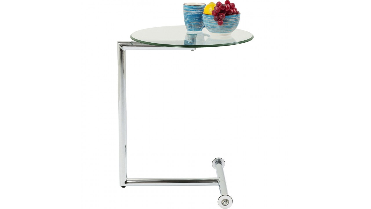 Table Appoint Verre Table D Appoint En Verre Ronde Easy Living