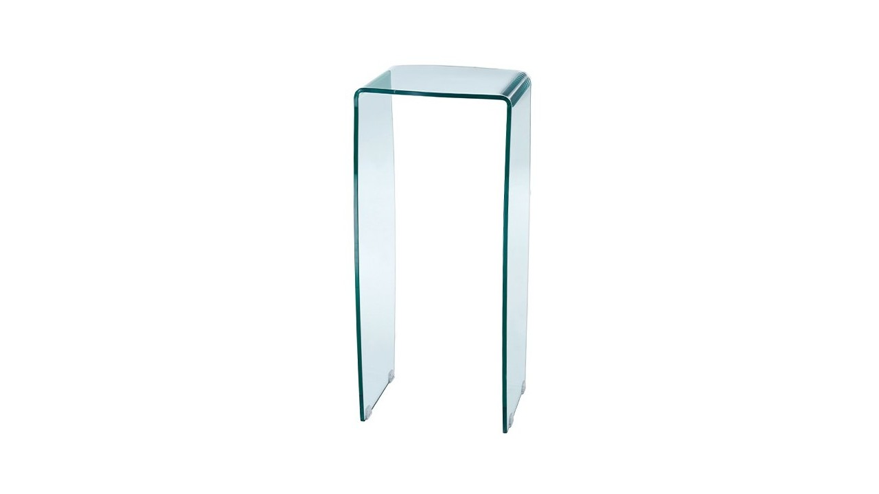 Sellette Design Verre Sellette Design En Verre 40 X 40 Cm Infinity Pas Cher