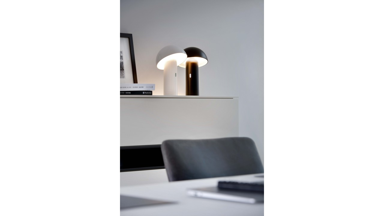 Lampe Blanche Design Lampe Blanche Rechargeable Svamp Pas Cher