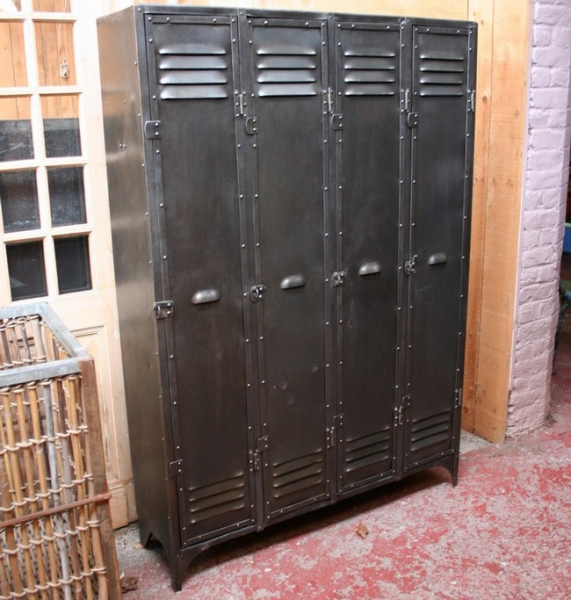 Casier Industriel Metal Armoire Vestiaire Metallique Design