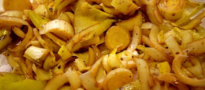 Salade de chicon à la truffe