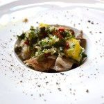 Salade de pommes de terre à la fruite fumée