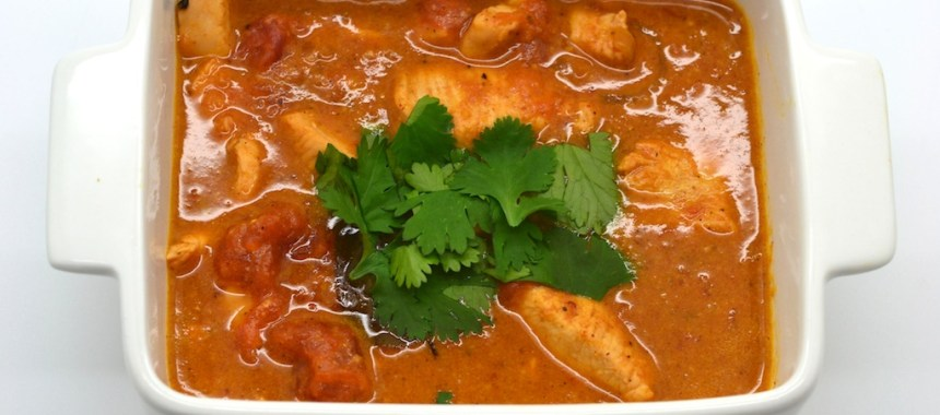 Poulet curry, épices indiennes – à ma façon