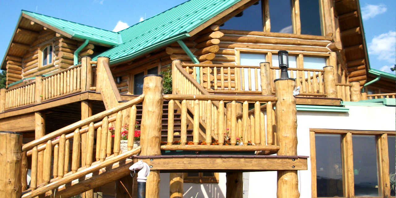 Home Repair Companies Tss Inc Log Home Restoration Company Log Home Repair In