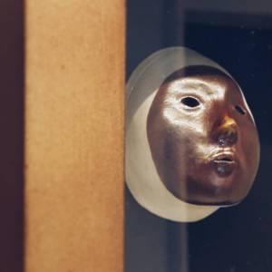 Altarpiece III detail A death mask a vacated womb ahellip