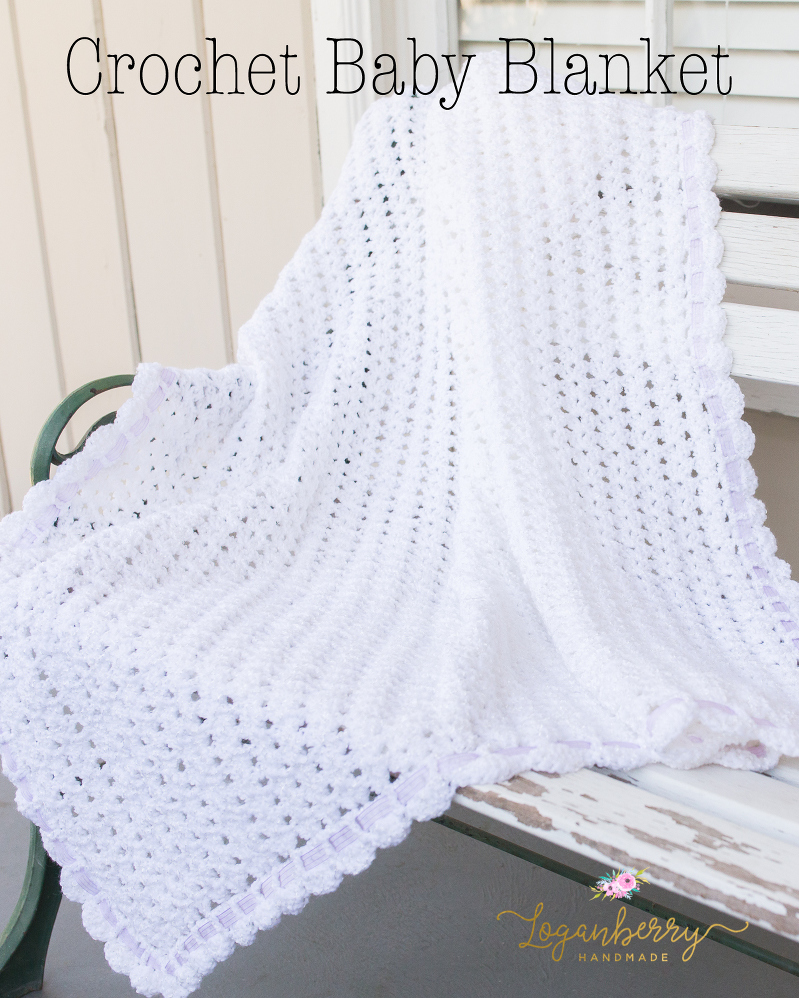 Crocheted Baby Blankets Sweet As Snow Crochet Baby Blanket Tutorial Free Crochet