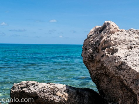 Rocks at a Bermuda beach