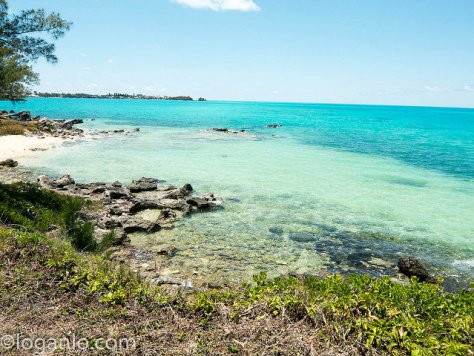 Bermuda waters and park