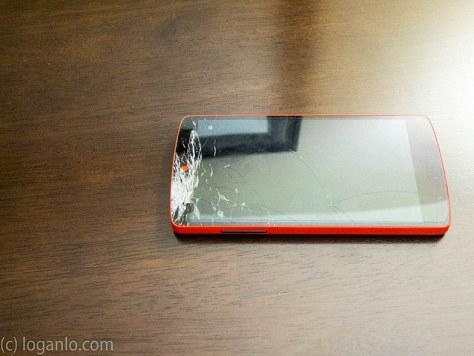 Cracked Nexus 5 Screen