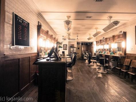 Barbershop in Downtown NYC