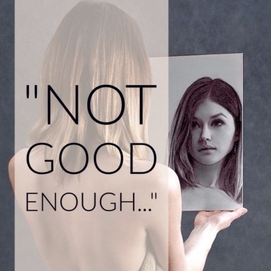 """Finding Joy When the Mirror Whispers """"Not Good Enough"""""""