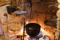 hearth cooking - Log Cabin Cooking