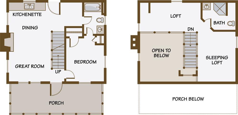 small log cabin house floor plans log cabin guest house plans guest house floor plan small backyard guest house plans guest