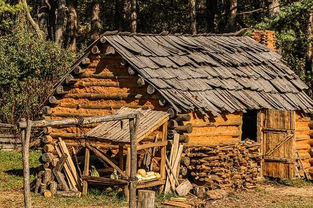 Old Log Cabins Facts And History Log Homes Lifestyle