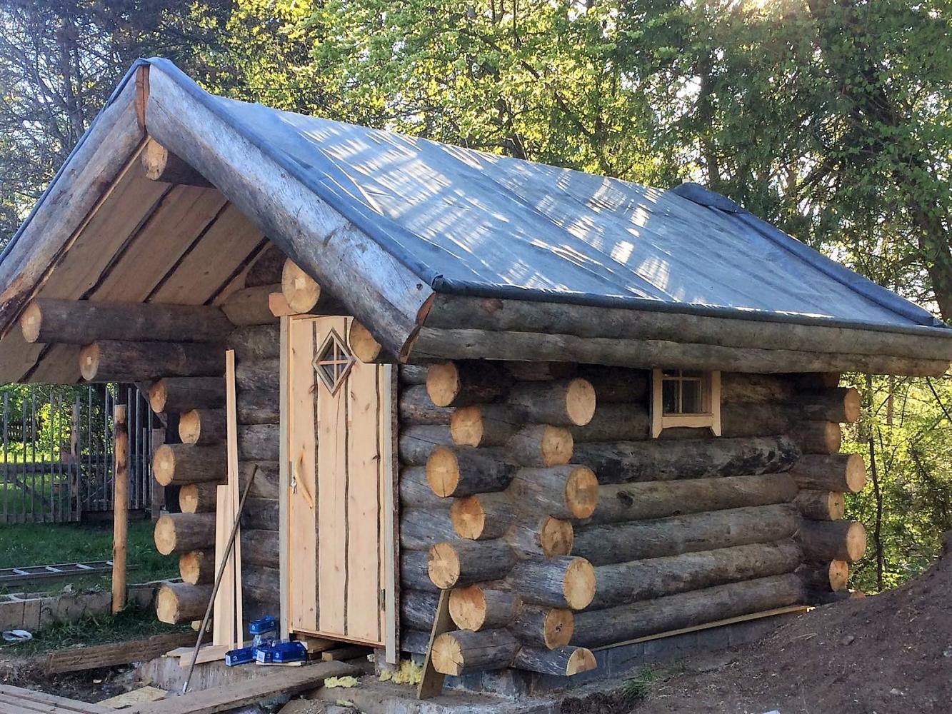 Zelf Tuinhuis Bouwen : Blokhut bouwen blokhut bouwen fresh schuren project schuur