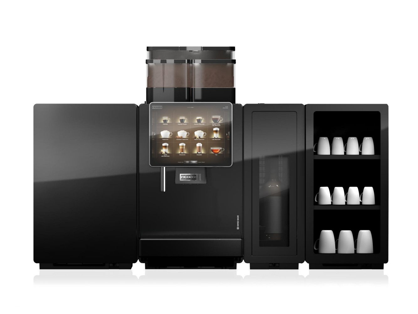 Franke Coffee Systems Franke A800 Bean To Cup Coffee Machine Logic Vending