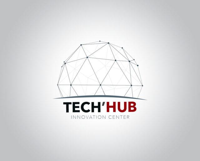 Innovation logo design - free template