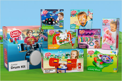 Toy Story Toys Argos Chad Valley Toy Range Gets New Branding By Elmwood Logo