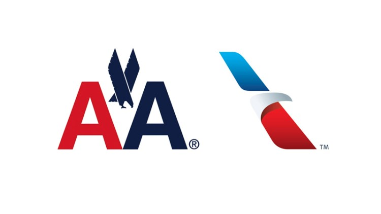 Novo logo American Airlines
