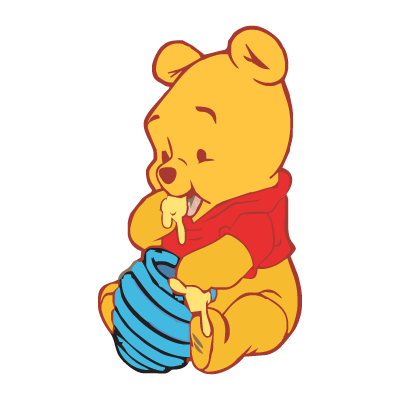 Pooh Bear Iphone Wallpaper Baby Pooh Logo Vector In Eps Ai Cdr Free Download