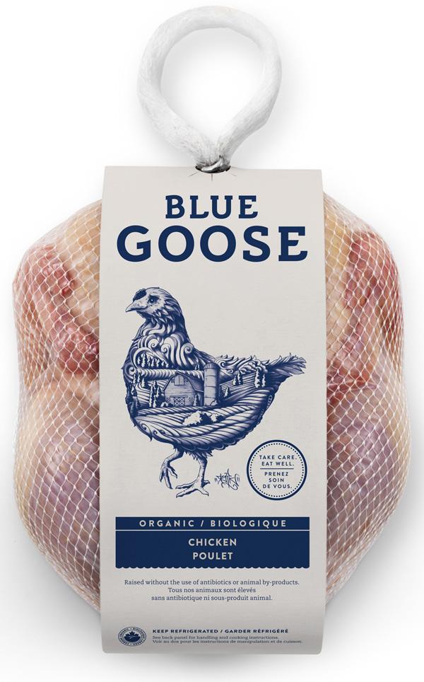 the blue goose pure foods est fier de ses b234tes logonews