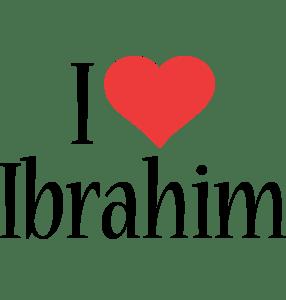 Ibrahim 3d Name Wallpaper Ibrahim Logo Name Logo Generator I Love Love Heart