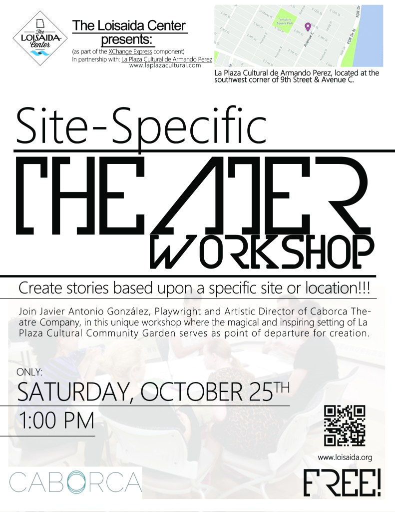Site-Specific Theater (Workshop)