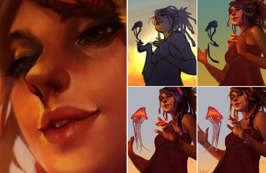 Love Animation Wallpaper Loish Net
