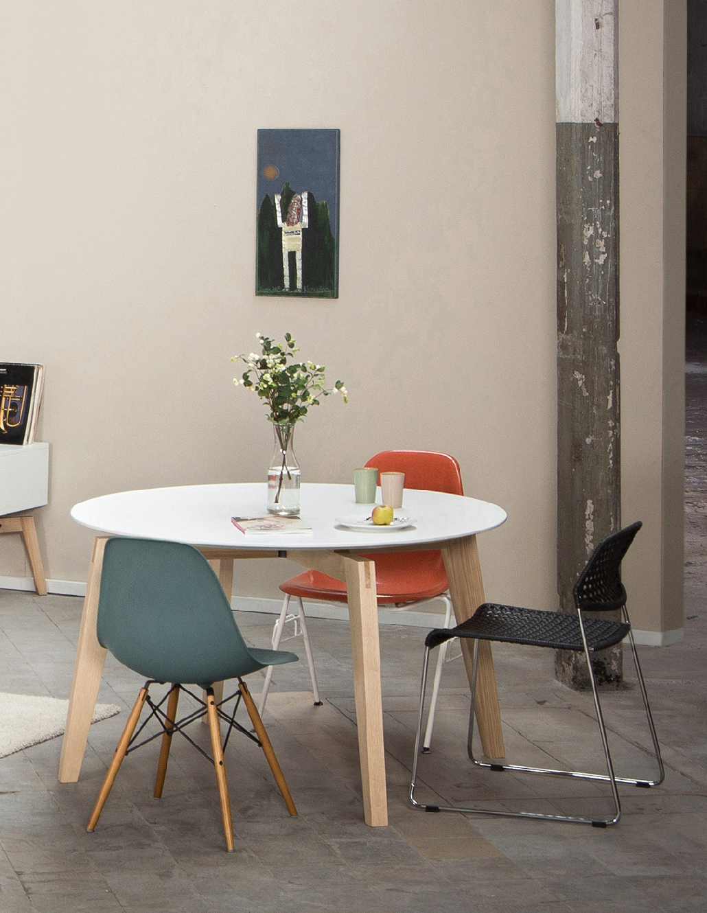 Esstisch Eames Runder Esstisch Private Space