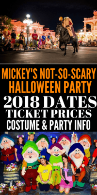 Mickey's Not So Scary Halloween Party Dates,Tickets, and ...