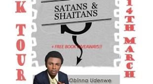 Online Book Tour: Obinna Udenwe's Satans and Shaitans.
