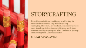 Register for StoryCrafting today! Click on the image for details.