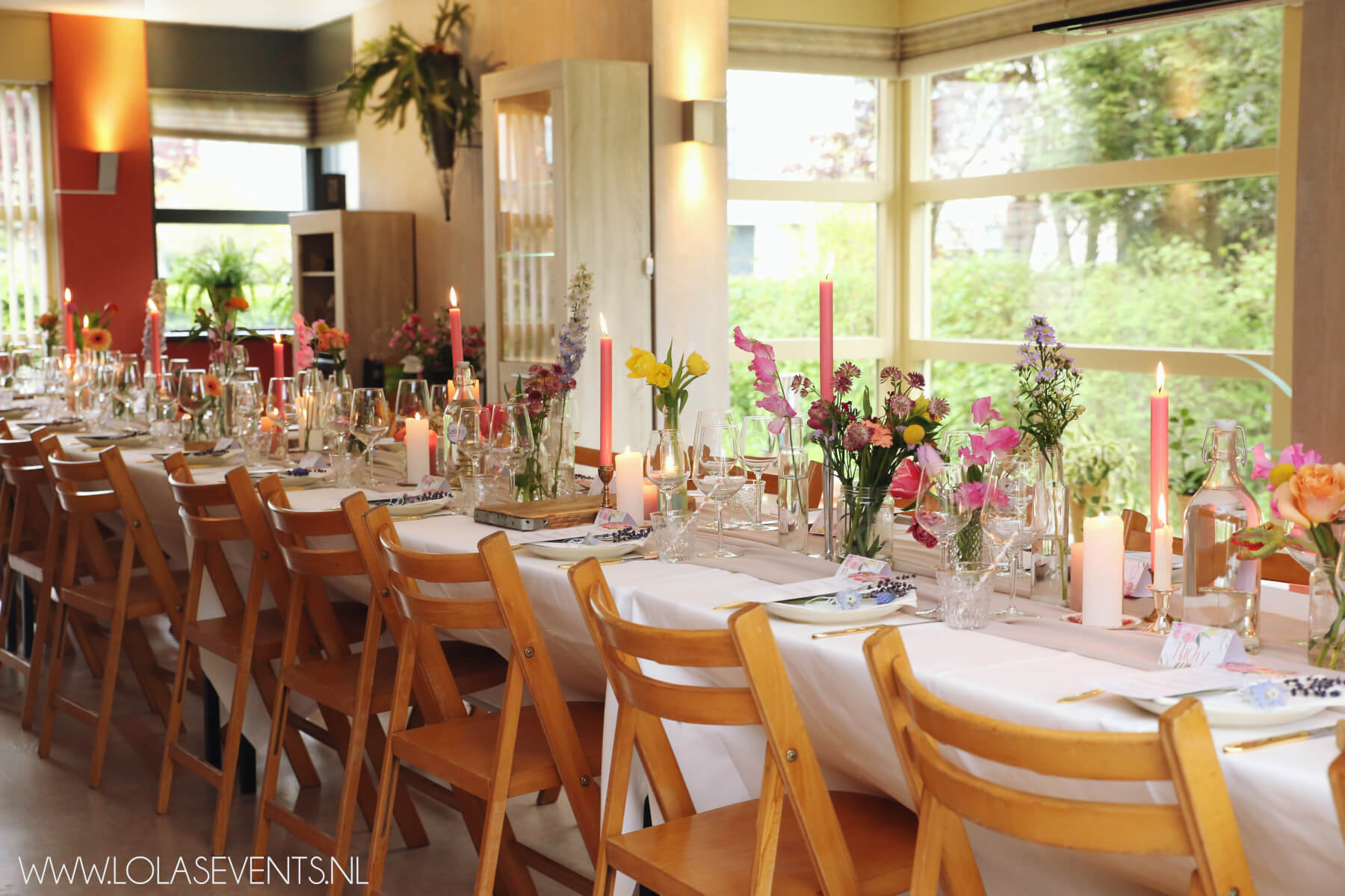 21 Diner Menu Tips Pastel Thema 21 Diner Tessa Lola 39s Events