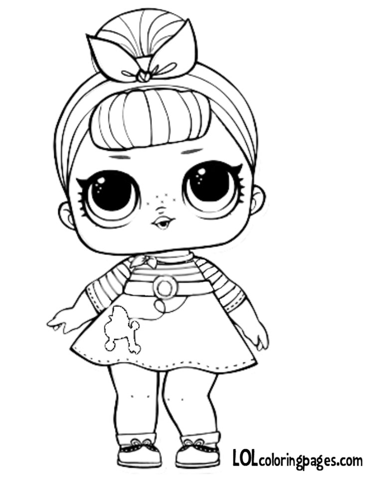 coloring pages of crazy hair best of free printable lol