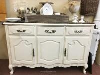 vintage dresser to bathroom vanity - Lolly Jane
