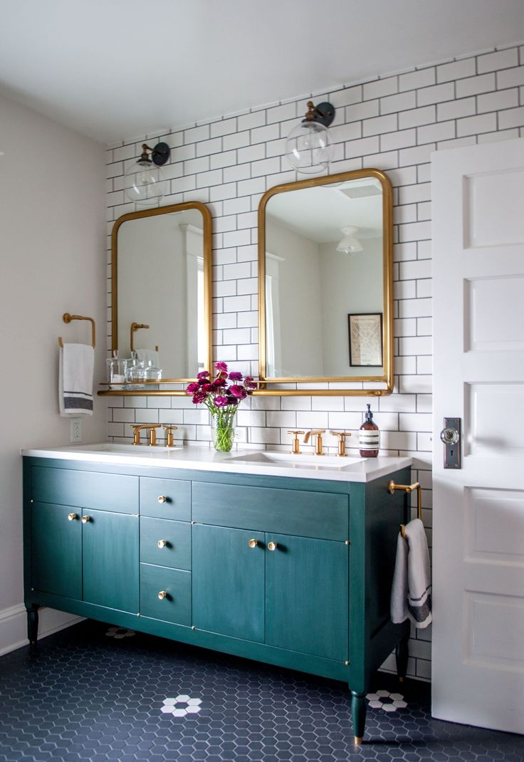 Bathroom With Mirrors 13 Gold Bathroom Mirror Ideas For Your New Bathroom Remodel
