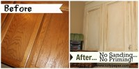 painting oak cabinets | Lollypaper
