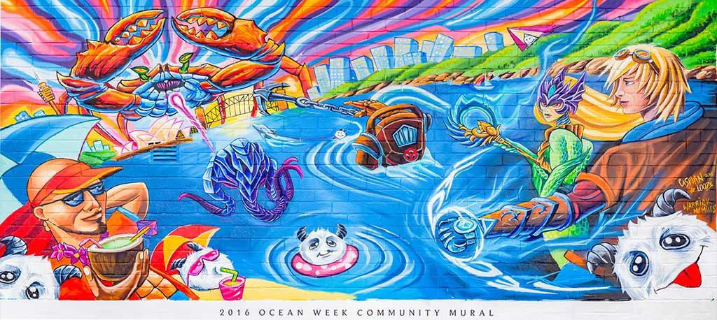 Ocean Week 2016 Mural