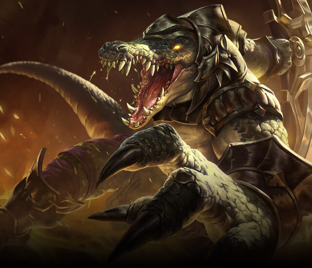 Legends Of The Fall Wallpaper Renekton The Butcher Of The Sands Shurima