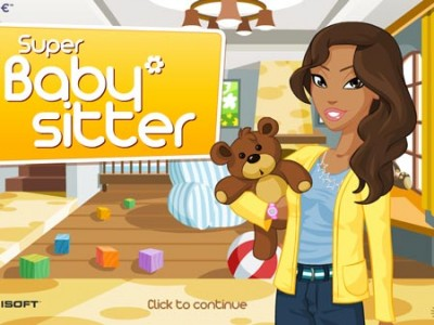Super Babysitter - online time management games Play for free