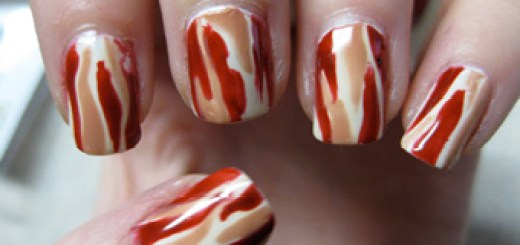Bacon Finger Nails