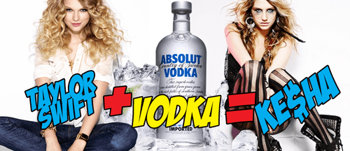 Taylor Swift Vodka Kesha