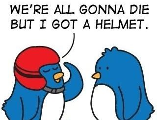 Twitter Can Be Dangerous. Get A Helmet.