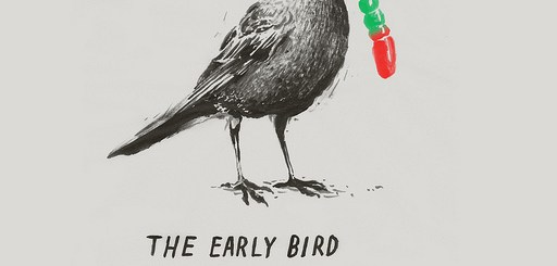 Early Bird Gets the Gummy Worm