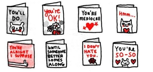 Noncommittal Valentines Day Cards