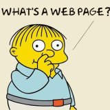 What's a web page?