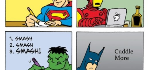 Super Hero Resolutions