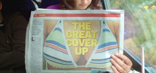 Funny Newspaper Image Placement