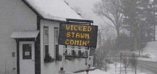 Wicked Winter Storm